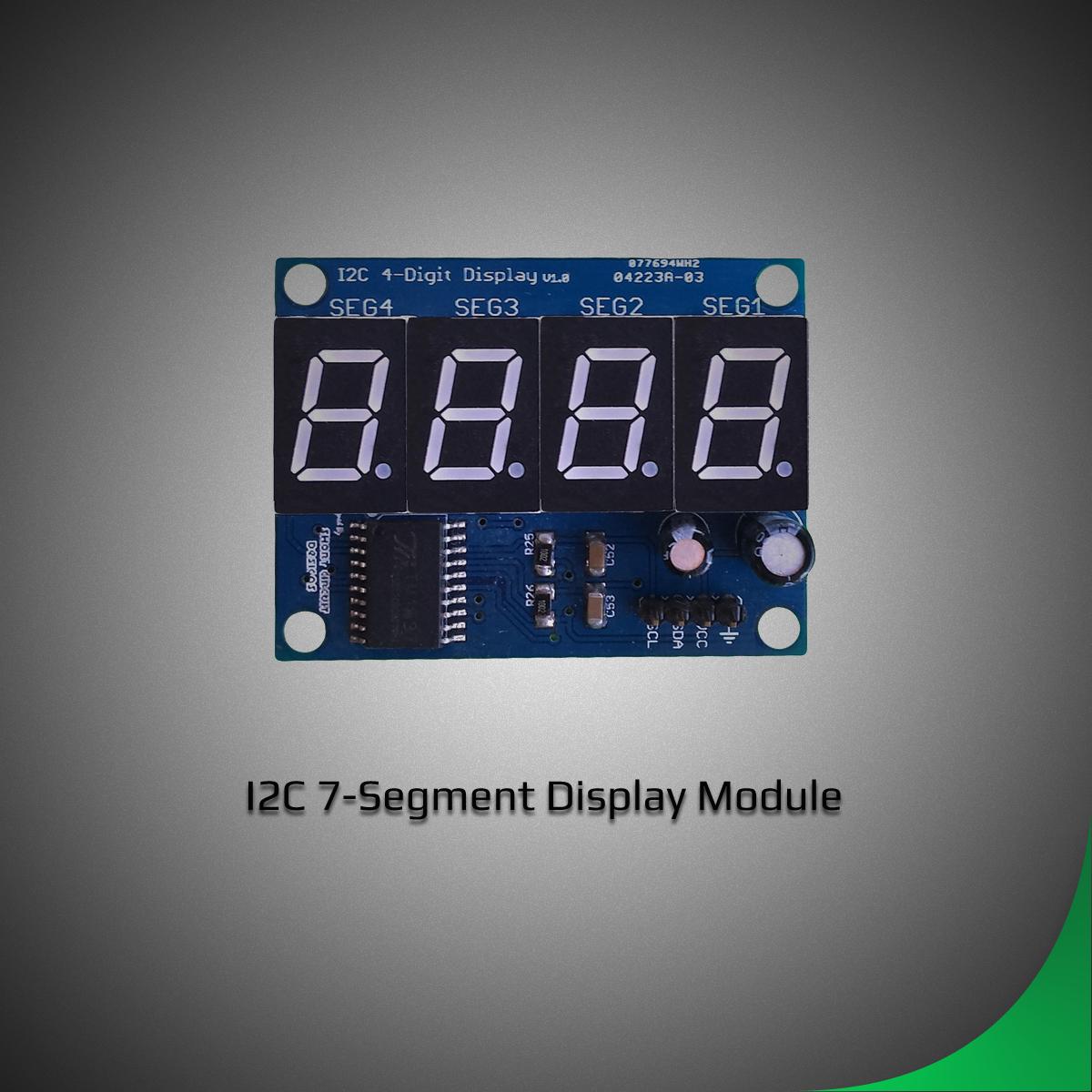 7 Segment I2C Module | Short Circuit Designs
